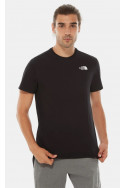 t-shirts-&-chemises-north-face-s/s-red-box-tee-homme