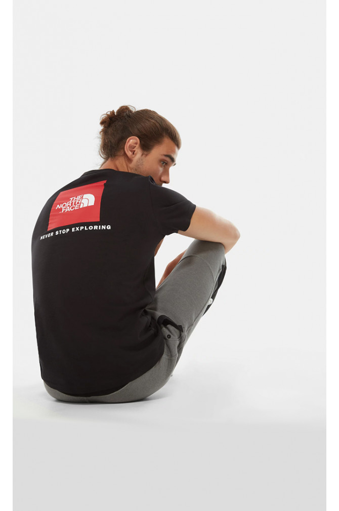 t-shirts-&-chemises-north-face-s/s-red-box-tee-homme-5