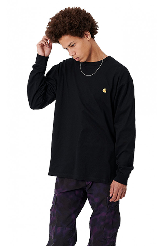 textile-carhartt-wip-l/s-chase-t-shirt-homme-4