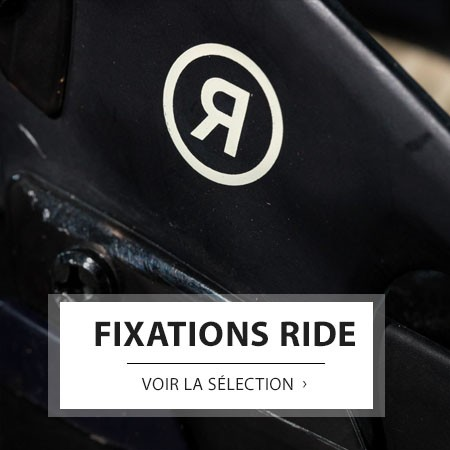 RIDE FIXATIONS SNOWBOARDS