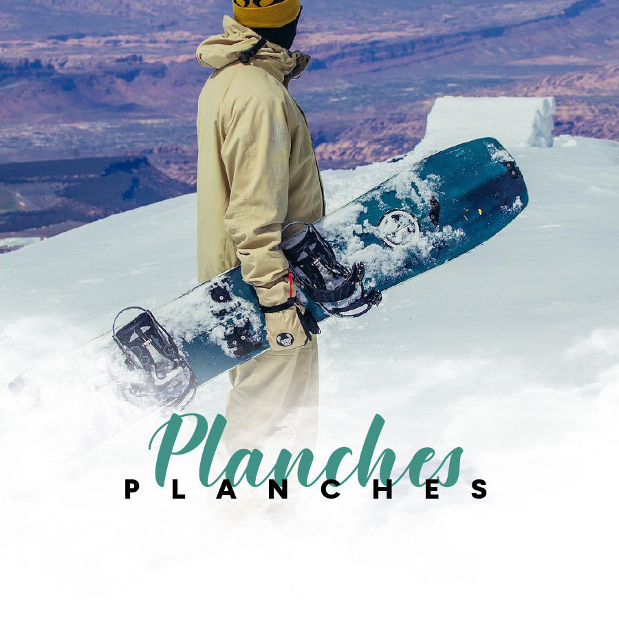 Planches Splitboard