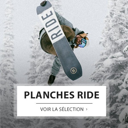 RIDE PLANCHES SNOWBOARD