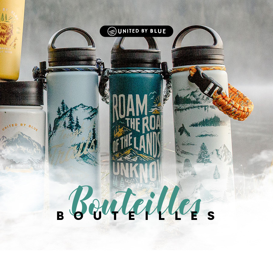 Bouteilles United by Blue