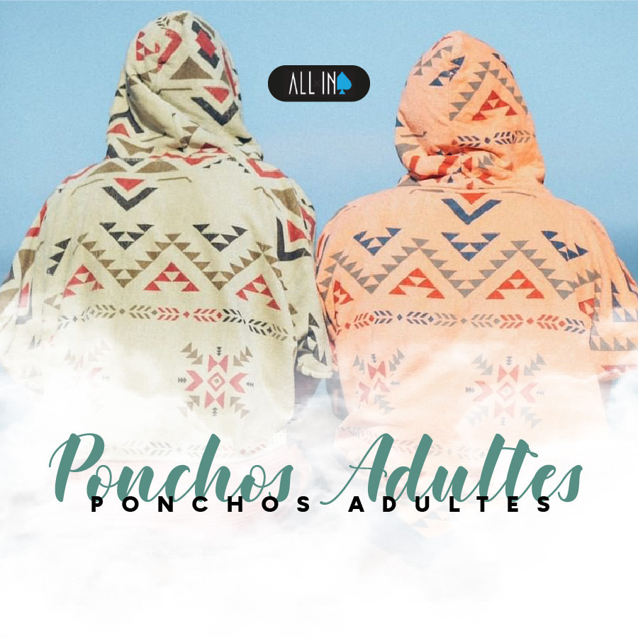 All In Ponchos Adultes