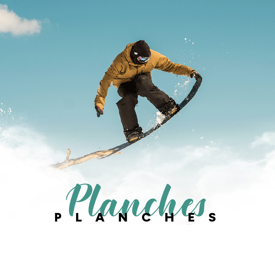 Planches nues snowboard