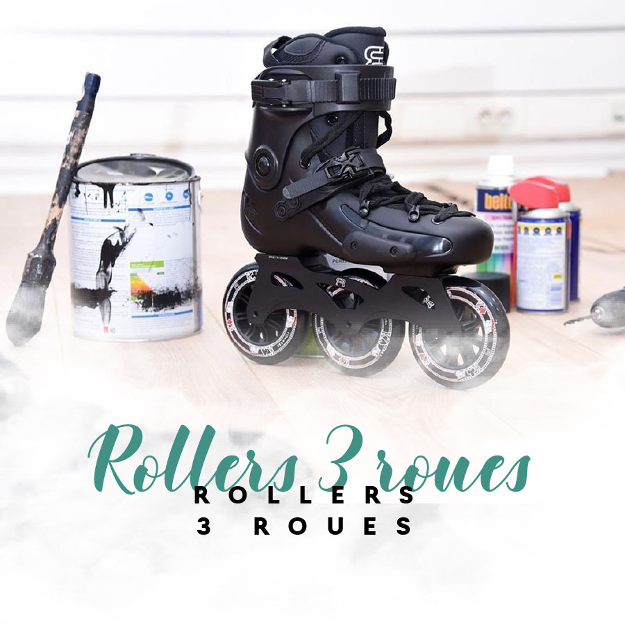 Patins complets roller 3 roues