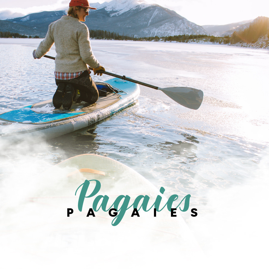 Pagaies de stand uo paddle